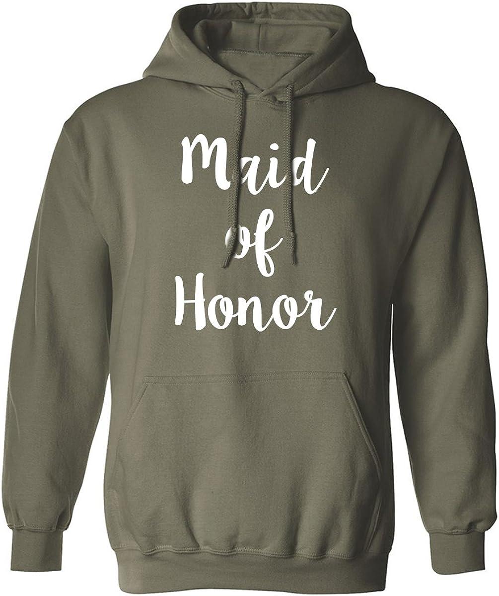 Maid of Honor Adult Hooded Sweatshirt