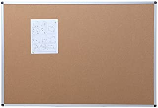 600mm x 400mm Wooden Framed Cork Board with Pins For Massage Notice Board