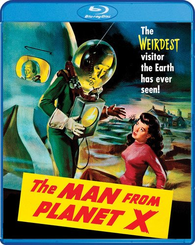 MAN FROM PLANET X BD [Blu-ray]
