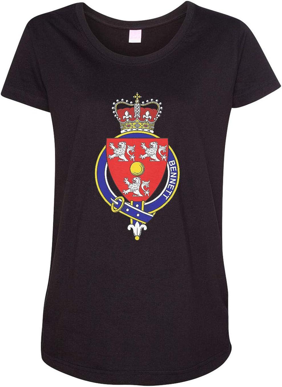 HARD EDGE DESIGN Women's English Garter Family Bennett T-Shirt