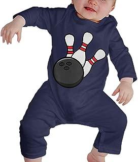 TYLER DEAN Baby Girl Coverall Bowling Pin Bowling Balls Kid Pajamas