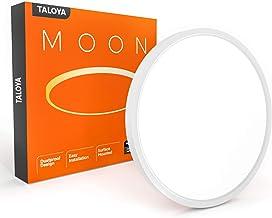 اتاق خواب نور سفید TALOYA LED ، 0.94 اینچ نازک با سطح صاف و نازک با سطح داخلی نازک ، سقف 20W 12 اینچ برای آشپزخانه ، اتاق نشیمن ، 3 درجه حرارت رنگ در 3000 (3000k ، 4000k ، 6500k)