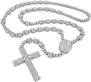 Best iced out rosary beads Reviews