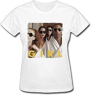 Refined Pharrell Williams G I R L Girl Women's Cotton Short Sleeve T-Shirt