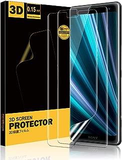 『改善の3D全面保護』Xperia XZ3 フィルム TopACE SOV39 SO-01L エクスペリア XZ3 フィルム TPU素材 気泡ゼロ 傷修復 高透過率 ケースと干渉せず (保護フィルム2枚)