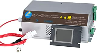 Cloudray CO2 Laser Power Supply W/Monitor 100-120W AC90-250V DIY Replace Part for EFR Tube & CO2 Laser Engraver