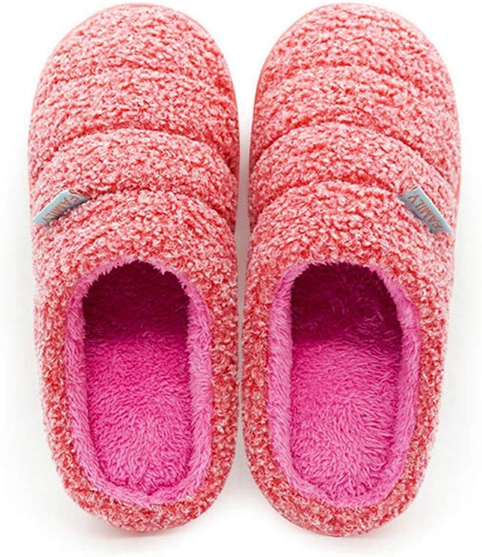NOMIMAS Comfortable Women Slipper Winter Warm Sheep Velvet Indoor Soft Cotton Non-Slip Bedroom Floor Home shoes