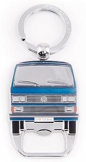 Rosso Rickenbackers Llavero con vista frontal de furgoneta Camper Van disponible en tres colores Soleil y Ocean.