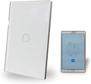 WiFi Smart Light Switch 1 Gang Glass Panel AU Approved Google, Alexa, IFTT Compatible