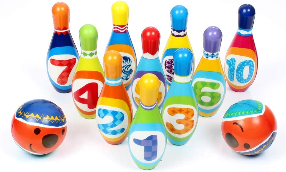 trust STJOYOPY Kids Bowling Set Toddler Play Game Active Indoor Educat El Paso Mall