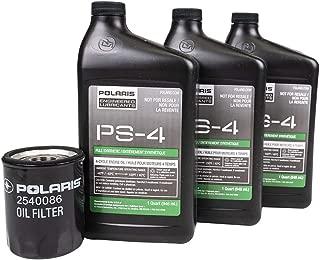 POLARIS PS-4 Full Synthetic Oil - Oil Change Kit 2881696