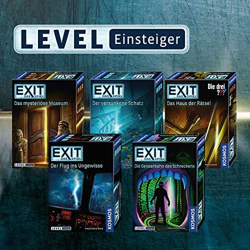 """KOSMOS Spiele 694043 -"""" EXIT – Spiel: drei ??? – Haus Rätsel"""" Brettspiel - 2"""