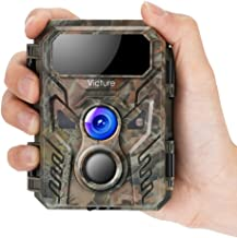 $42 » Victure Mini Trail Game Camera 16MP 1080P with Advanced Night Vision Motion Activated IP66 Waterproof for Hunting Games and Wildlife Watching