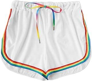 Estate Pantaloni Corti Sportivi da Allenamento per Il Fitness Pantaloncini Donna,Kword Pantaloncini da Spiaggia per Donna