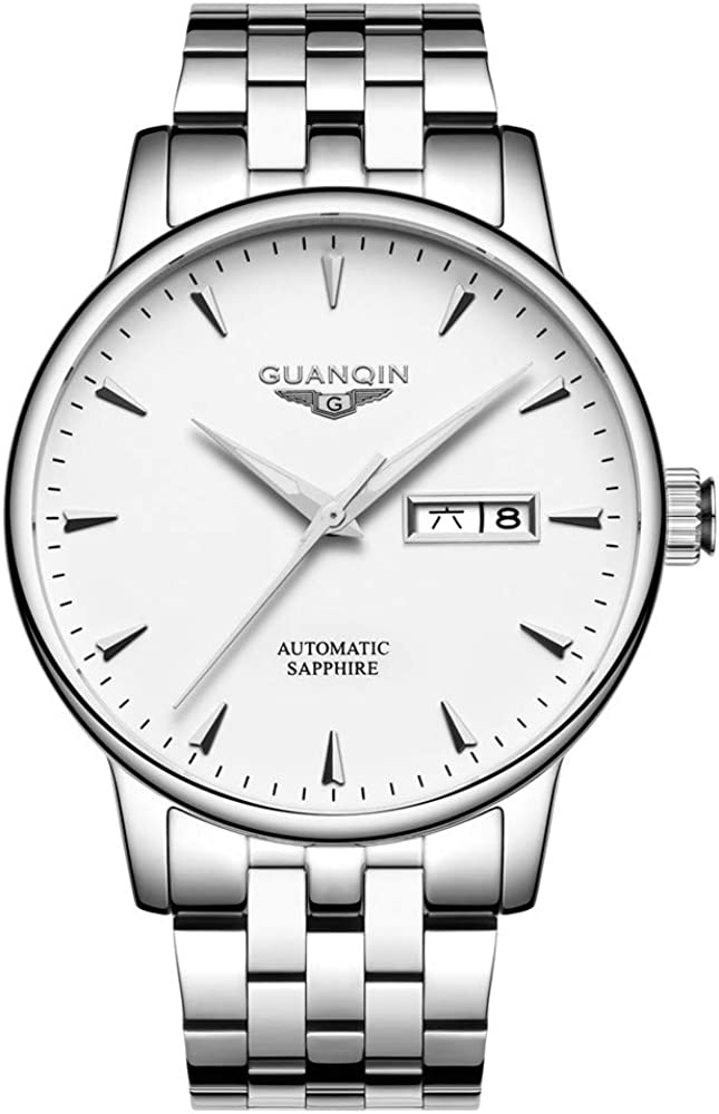 Guanqin Men Cash special price Our shop most popular Analog Fashion Sta Self-Winding Mechanical Automatic