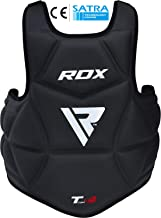 RDX Boxing Chest Guard Body Protector Martial Arts MMA Rib Shield Armour Taekwondo Training (CE Certified Approved by SATRA)