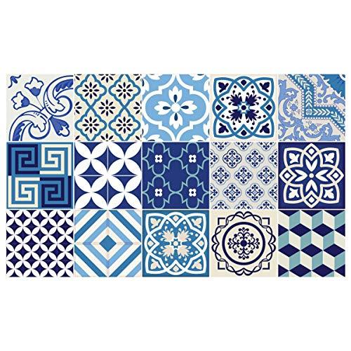 Azulejos wandtegels cementtegels 20 x 20 cm 15 stuks