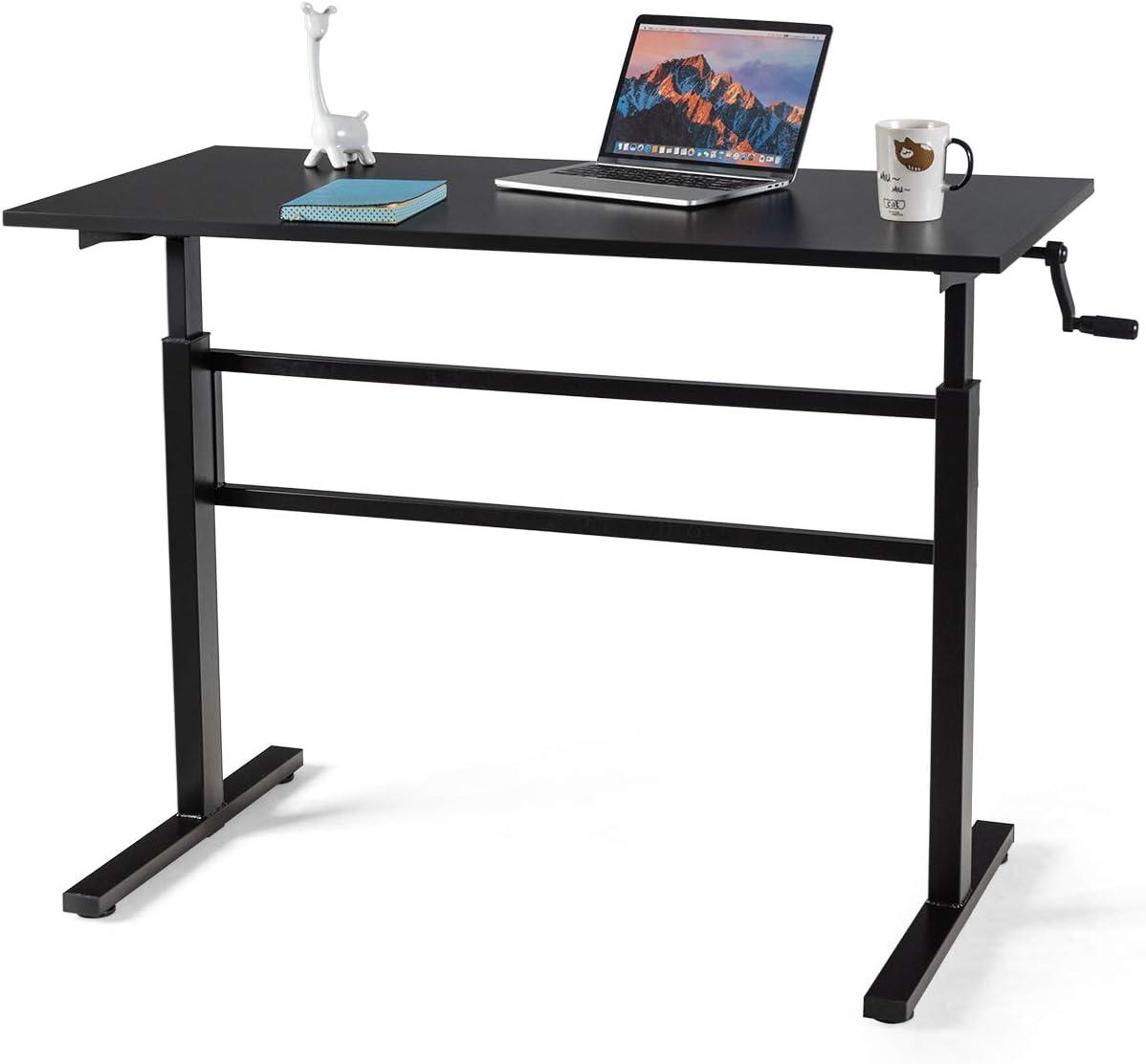 Washington Mall Very popular Tangkula Standing Desk Height Adjustable Computer Stand Sit to