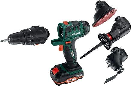 4 en 1 Dispositivo combinada con batería atornillador multilijadora – Taladradora de sierra sable