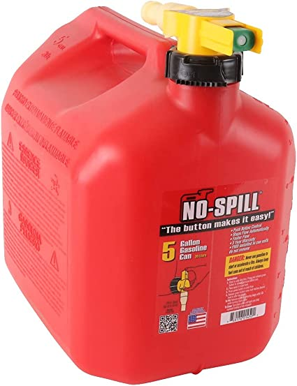 No-Spill 1450 5-Gallon Poly Gas Can (CARB Compliant): image