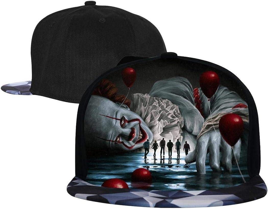 AolaZW Hip Hop Hat, Adjustable Hamilton Flat Brim Bill Baseball Cap