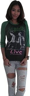 Women's Sex Pistols Live At The Longhorn Rock Raglan T-Shirt