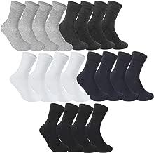 Rovtop Chaussettes Homme Hiver Chaudes en Coton 10 Paires Chaussettes pour Homme Chaudes Douces Respirant Épaisses pour Automne et Hiver