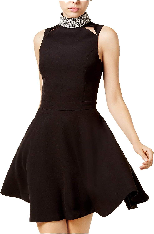 XOXO Womens Juniors Party Sleeveless Cocktail Dress