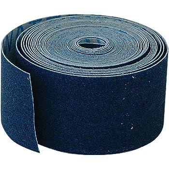 EZ-FLO 45205 Waterproof Emery Cloth, 5 Yd Length, 1.5 x 1.5 x 180 inches, Blue