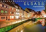 E L S A S S Impressionen (Tischkalender 2019 DIN A5 quer): Das Elsass in 13 faszinierenden Aufnahmen (Monatskalender, 14 Seiten ) (CALVENDO Orte)