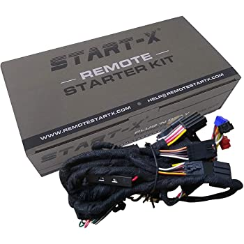 Start-X Remote Starter for Silverado 2007-2013 & Sierra 2007-2013 || Plug N Pay || 3 X Lock to Remote Start || NO UPDATER Required