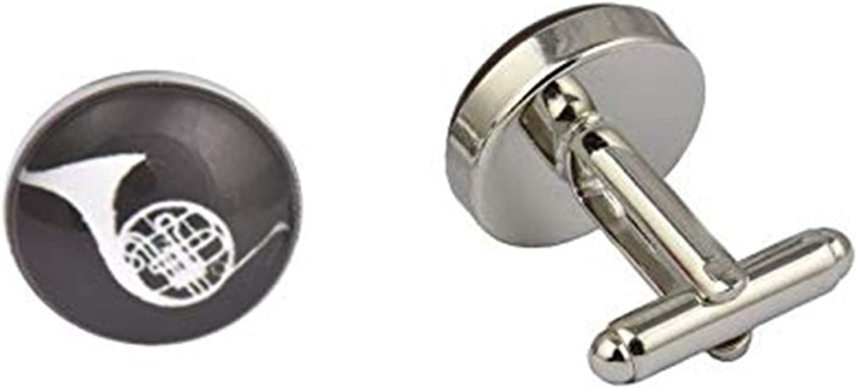 French Horn Cufflinks , Music Cufflinks , Cool Cufflinks ,Mens Cufflinks , Popular Cufflinks, Quality Cufflinks