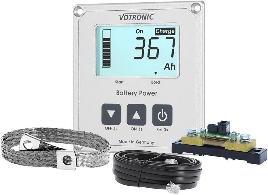Votronic 1263 Lcd Batterie Computer 100 S Smart Shunt Und Masseband Auto