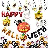 thematys® Globos para Fiestas de Halloween - Dos diseños Diferentes Fiestas de Halloween (Style 1)
