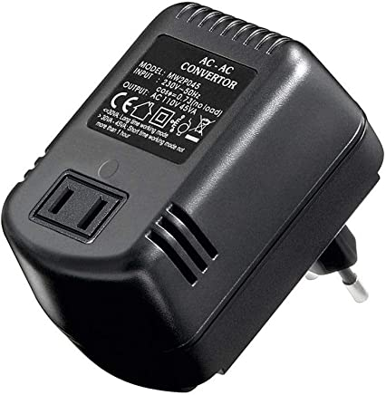 Goobay - Convertidor de corriente AC/AC 45 W, Negro