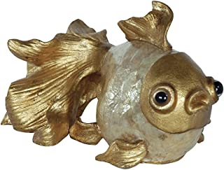 Timeless Reflections by AFD Home 10771415 Capice Goldfish Statuette
