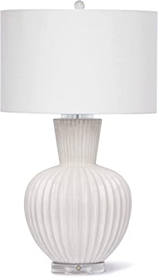 Robert Abbey 215 Lamps With Off White Linen Shades Deep