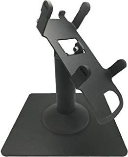 Discount Credit Card Supply Freestanding Swivel and Tilt Dejavoo Z8/Z11 Terminal Stand (Black)