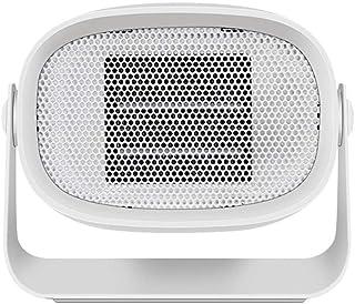 Calefactor Eléctrico Portátil Calentador 500w Calefactor De Aire Caliente Cerámica De PTC Giratorio 90 Grados Bajo Consumo De Energía para Hogar Y Oficina Protección del