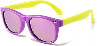 HQPCAHL - Niños Gafas De Sol Polarizadas Goma Tonos Flexibles Gafas De Sol Polarizadas Niños Y Niñas Protección UV para Niñas Niños De 3 A 12 Años
