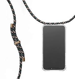 KNOK Funda con Cuerda para iPhone X/iPhone XS - Funda Colgante para movil Carcasa - Colgar movil Cuello Funda con Correa Colgante con Cordon para Llevar en el Cuello