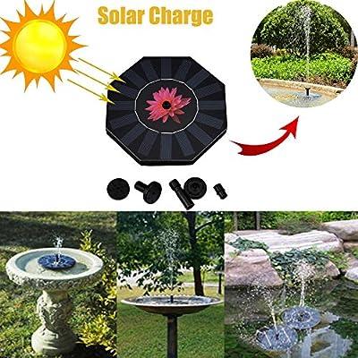 New Outdoor Solar Powered Bird Bath Water Fountain Pump for Pool Garden Aquarium Other Clearance Sales