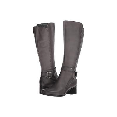 Naturalizer Dane (Elephant Grey Leather) Women