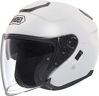 Shoei Solid J-Cruise Touring Motorcycle Helmet - White/Large