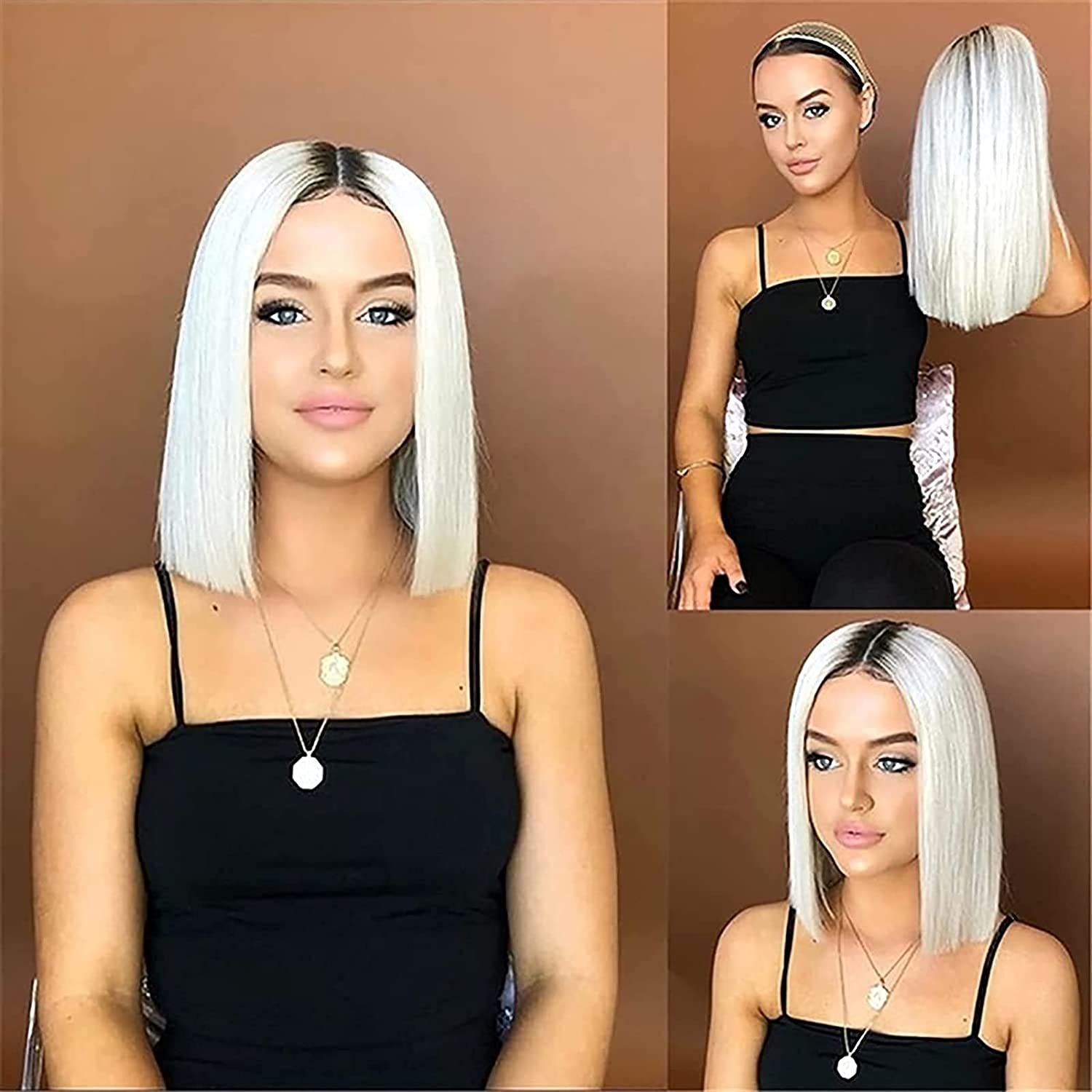 Hair Replacement Wig Short Bob Sale special price Lengt Ranking TOP4 Shoulder Without Bangs