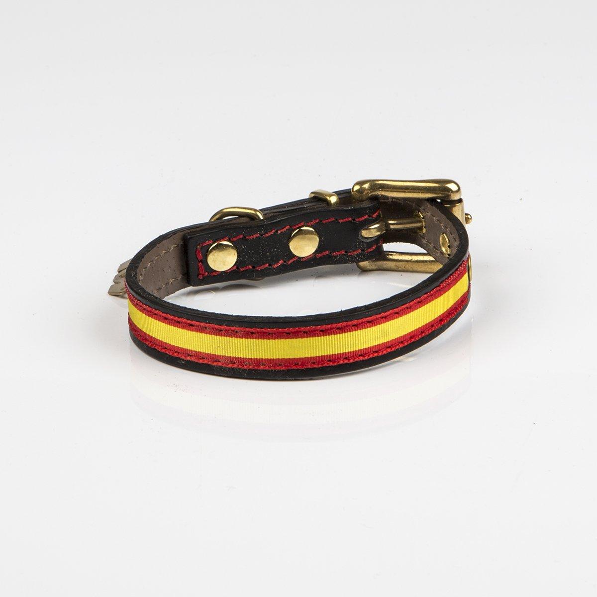Be two - Collar para Perros Bandera españa: Amazon.es: Productos para mascotas