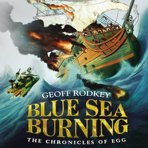 Blue Sea Burning audiobook cover art