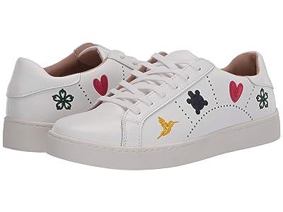 Jack Rogers Kennedy Sneaker (White) Women