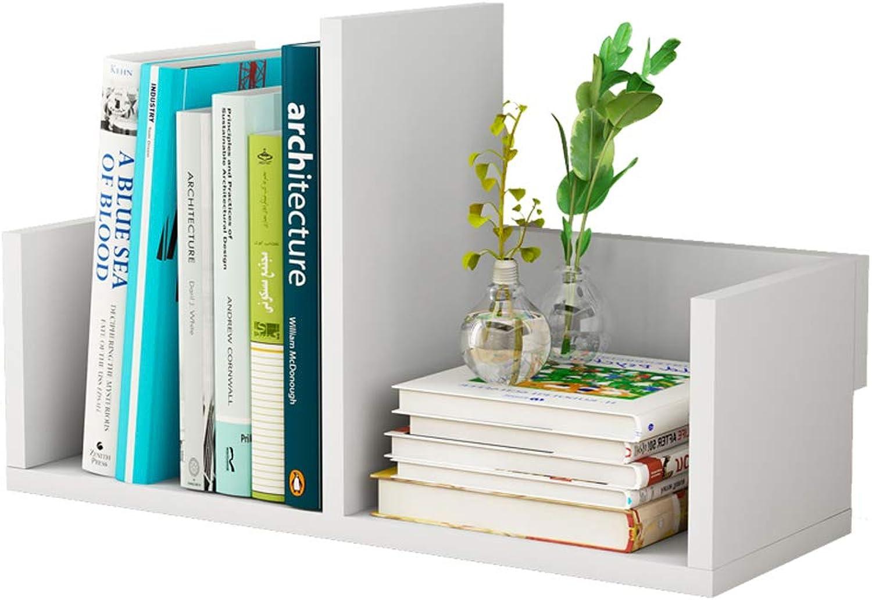 YAXIAO Desktop Bookshelf Office Student Storage Bedroom Bookcase Book Album Display Stand 40x16.5x13cm Bookshelf