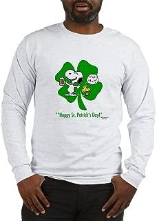 CafePress Peanuts Snoopy Clover Boys Long Long Sleeve T